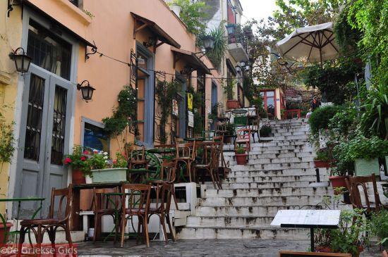 Plaka Anafiotika Athene